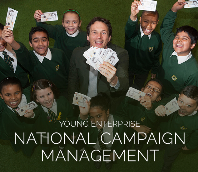 Young Enterprise Campaign Management by leading London PR Agency