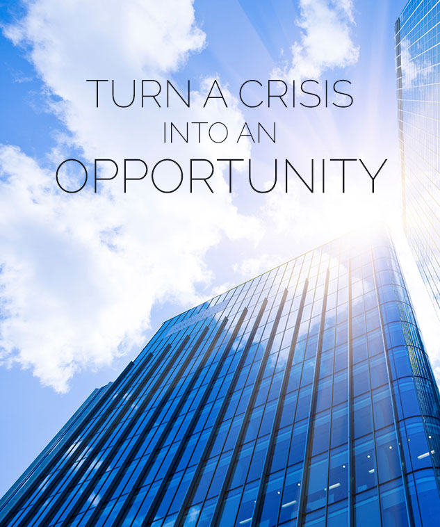 Turn a crisis into an opportunity | PHA Media