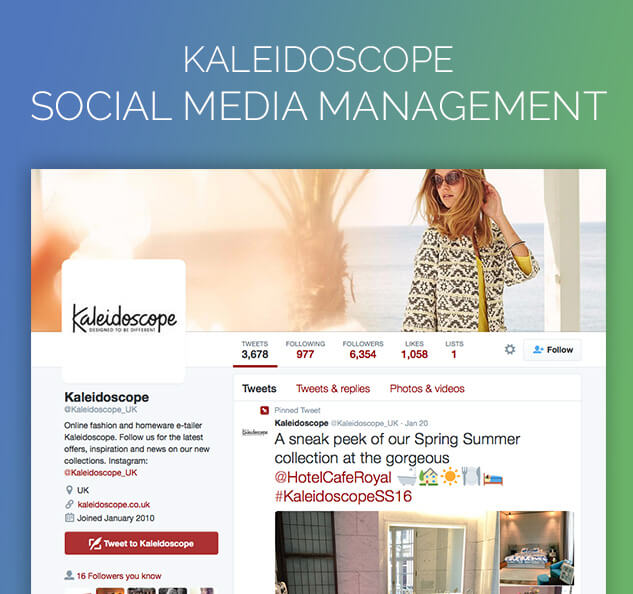 Kaleidoscope Social Media