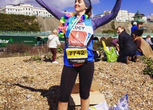 Lucy Marathon Pic 2