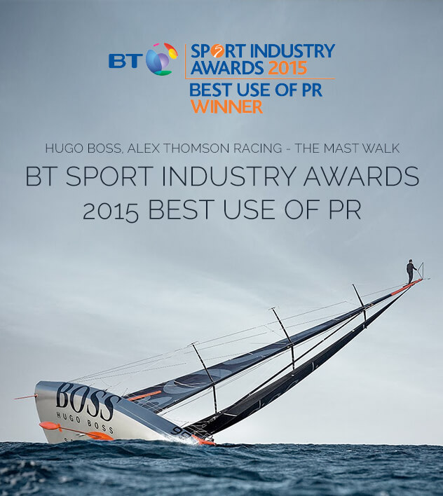 Award Winning Sport Campaign PHA Media Alex Thomson