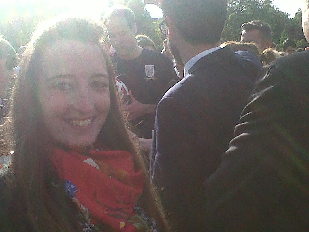 PHA Media at Buckingham Palace with Polytechnic FC