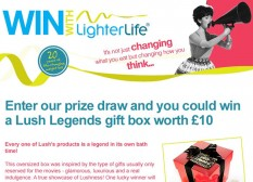 Lighterlife Competition