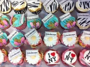 Kaleidoscope Cupcakes