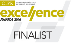 CIPR Excellence Awards 2016 - Outstanding Large Agency of the Year