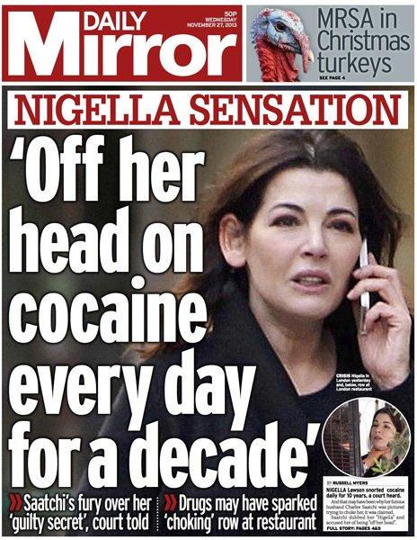 Nigella Lawson Headlines