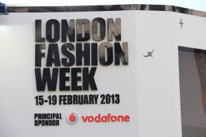 2013 Best social media London Fashion Week