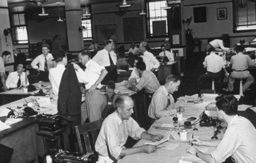 Old Newsroom social media future