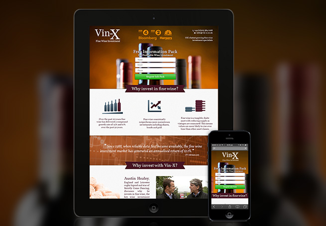 Vin-X Case Study | PHA Media