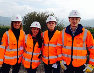 The PHA team at the UK's biggest cement plant.