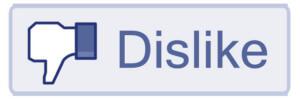 Dislike button Facebook