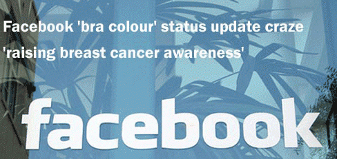 breast cancer awareness facebook campaign