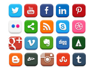 Social media icons future