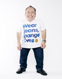Warwick Davis - Jeans for Genes Day Ambassador