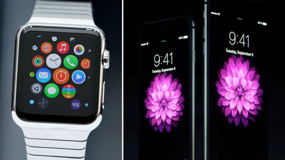 Apple launched the iPhone 6,iPhone 6 Plus and Apple Watch