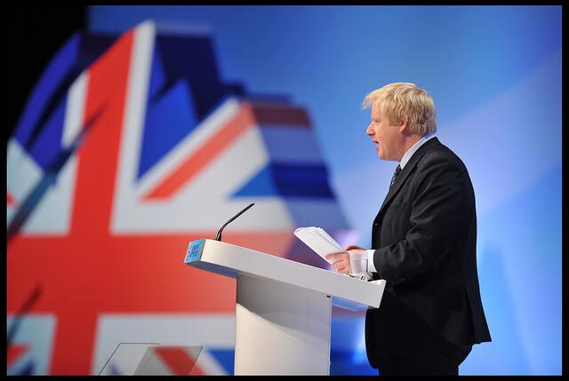 Boris Johnson Party Conference