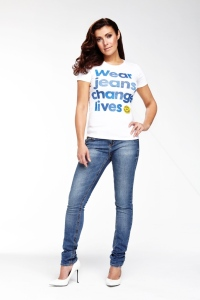 Kym Marsh - Jeans for Genes Day Ambassador