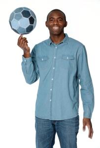 Fabrice Muamba - Jeans for Genes Day Ambassador