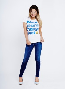Sam Faires - Jeans for Genes Day Ambassador
