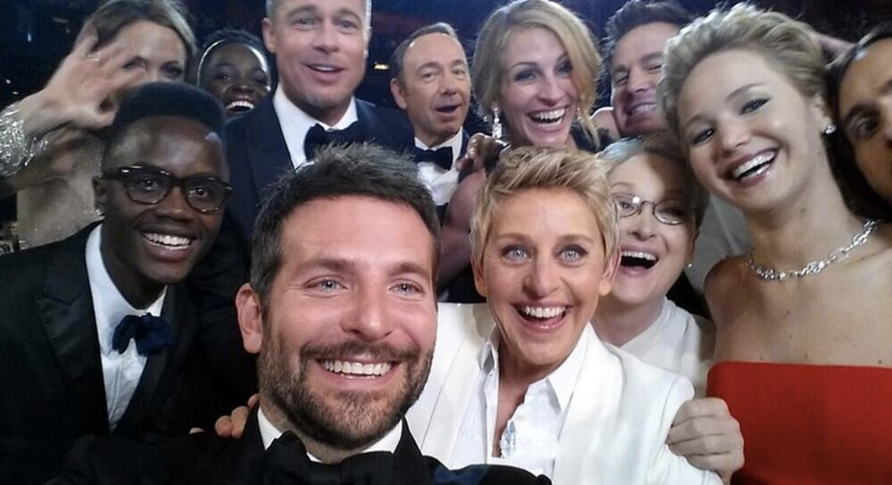 This has been the year of the selfie