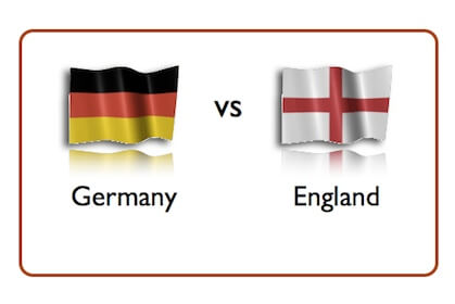 germany vs england time