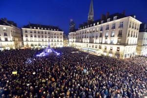 Millions show their defiance against the Paris attacks.