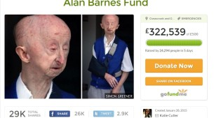 Alan Barnes - GoFundMe page