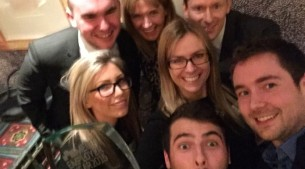 Awards selfie