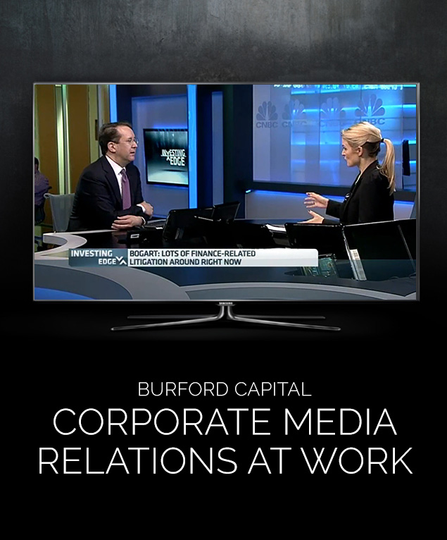 Burford | PHA Media Corporate PR