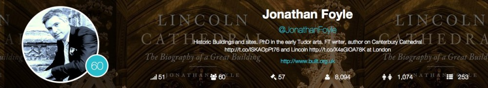 Jonathan Foyle – World Monuments Fund twitter