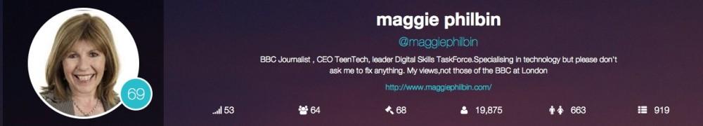 Maggie Philbin – TeenTech twitter