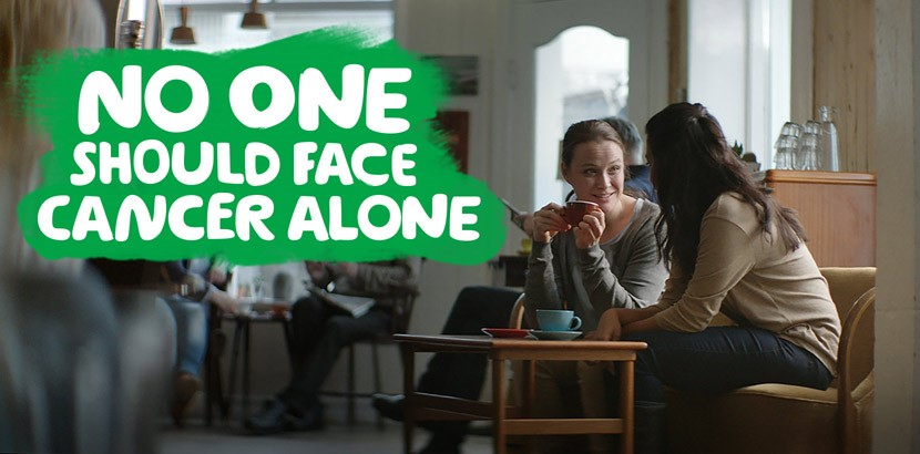 MacMillian No one should face cancer alone poster campaign