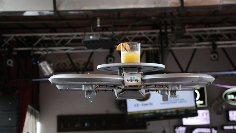 Drones have gone from concept to reality in the past two years.