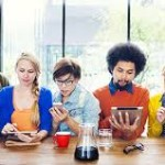 millennials, tablets, phones, smart, digital