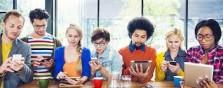 millennials, tablets, phones, smart, digital