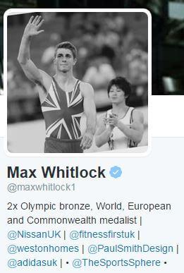 Max Whitlock Twitter