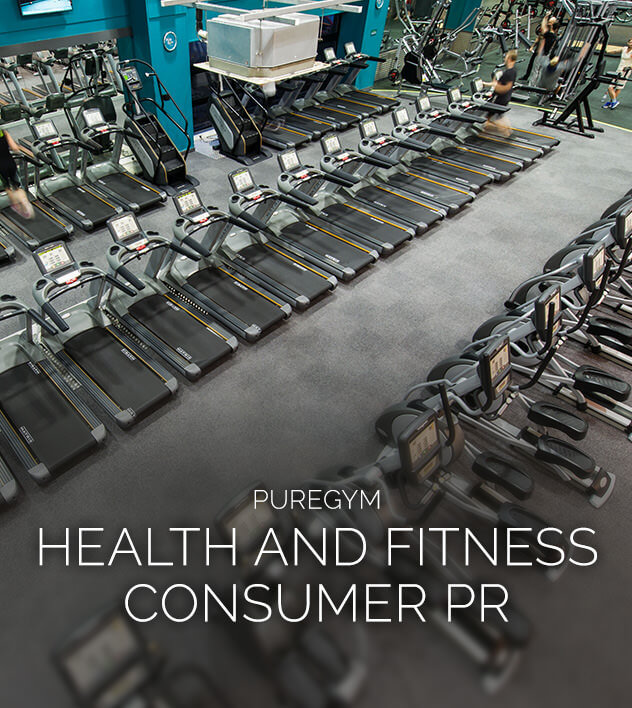 Pure Gym health and fitness PR by PHA Media