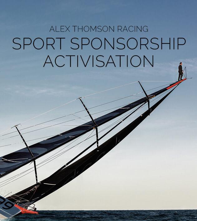 Alex Thomson Sport Sponsorship campaign
