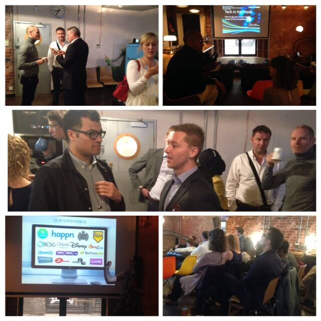 Guests gather at PHA Media's Tech in the Press event for London Technology Week