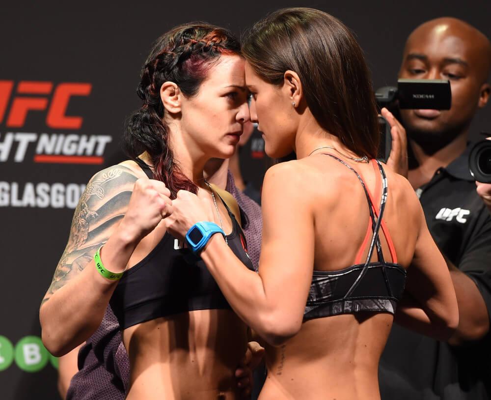 Women's MMA. Joanne Calderwood and Cortney Casey Sanchez