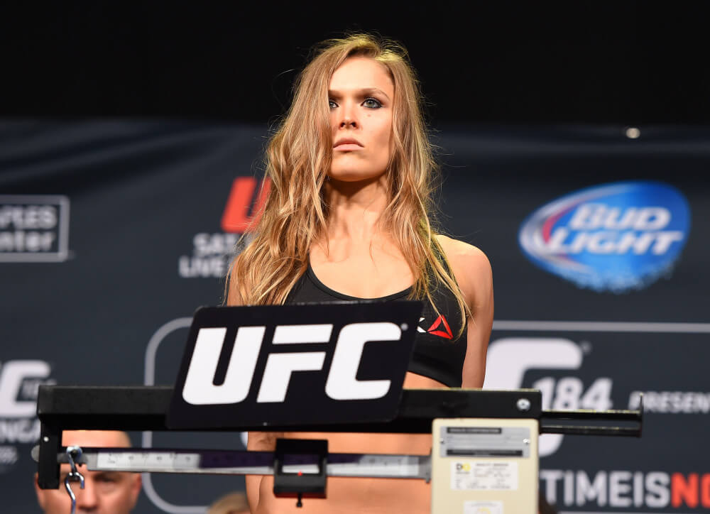 Women's MMA. Ronda Rousey weighs in.