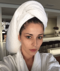 Cheryl's No Make Up Selfie