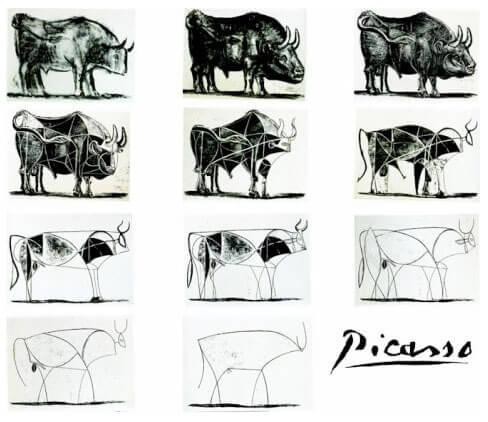Picasso's Bull inspires Apple's design processes