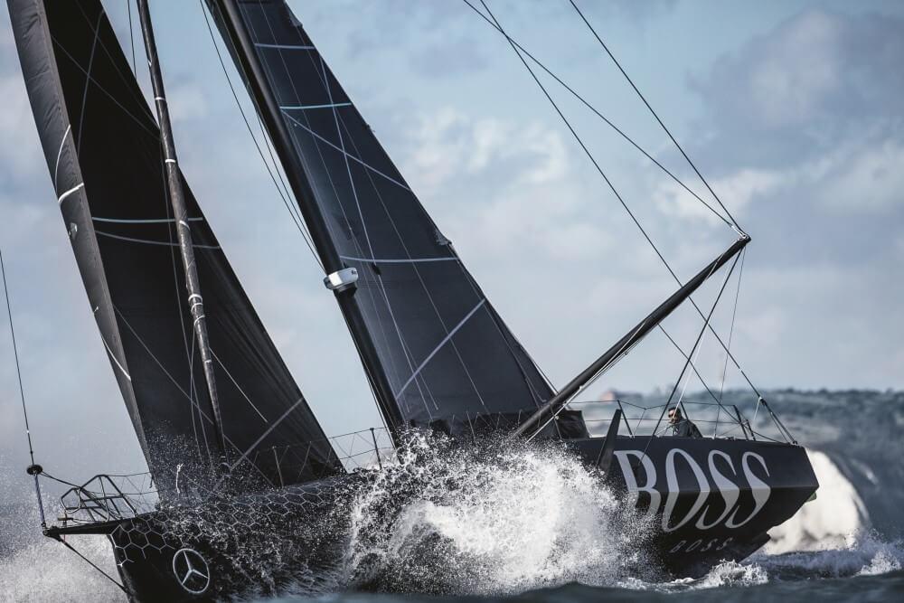 Alex Thomson HUGO BOSS boat