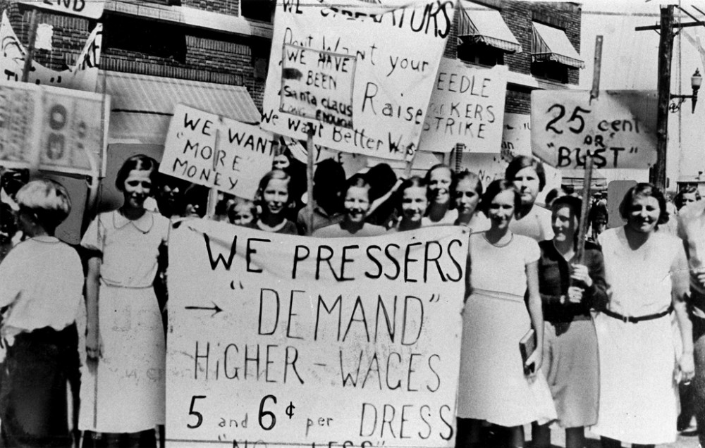 Higher Wages Protest
