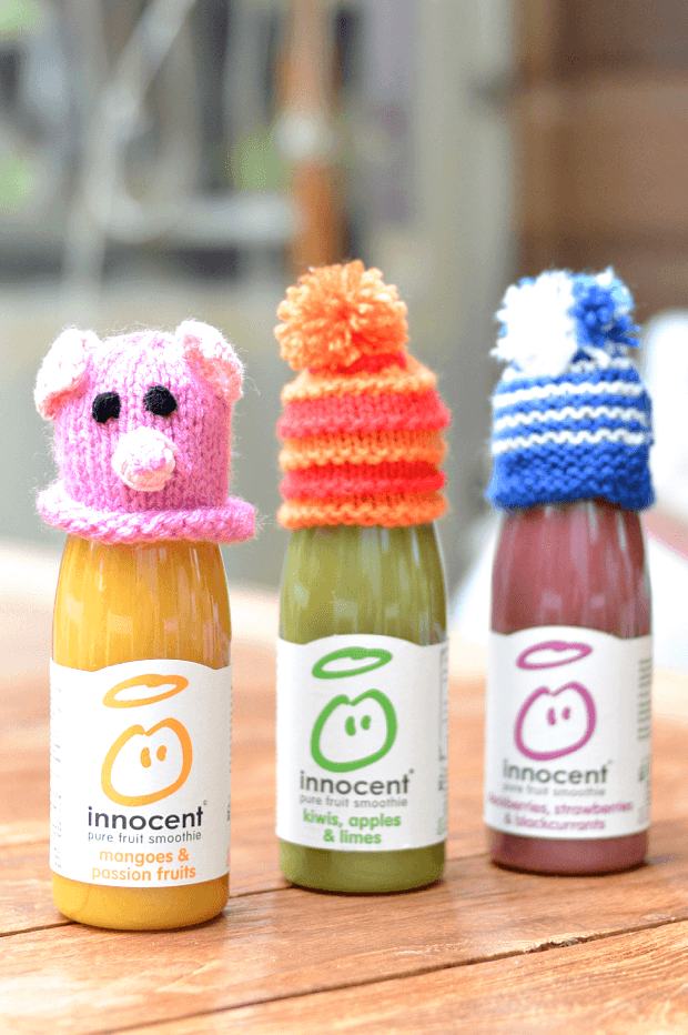 Innocent drinks dressed up with funny hats on harnessing the power of social media