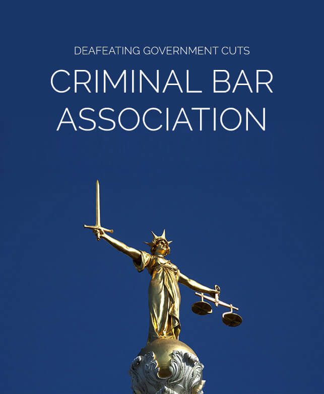 Criminal Bar Association Case Study