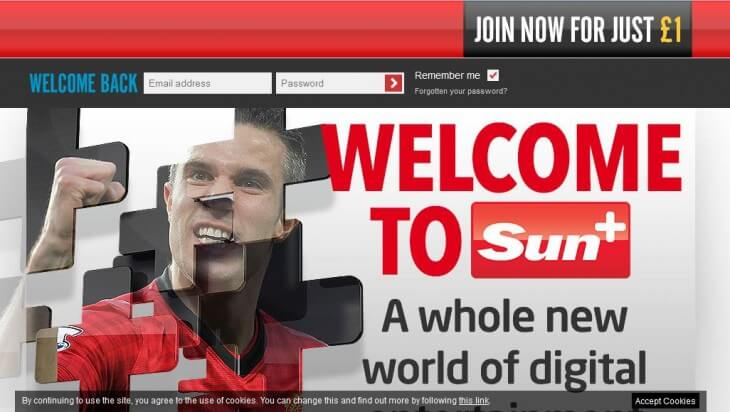 The Sun recently took down their paywall.