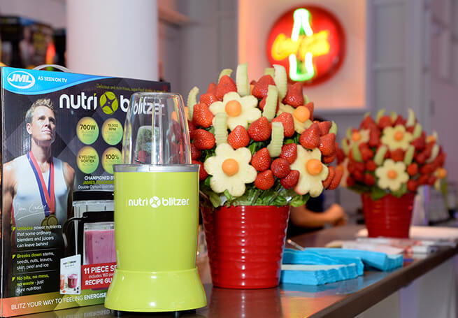 Food and Drink Pr Product Launch Nutri Blitzer JML
