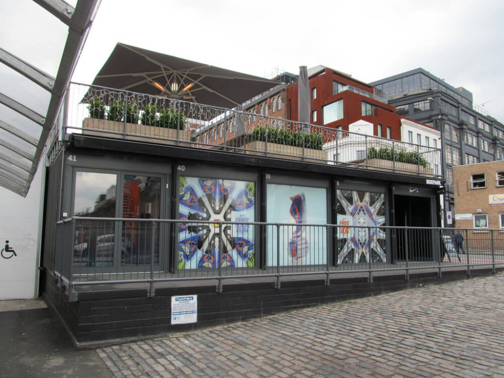BOXPARK is the perfect pop-up example.